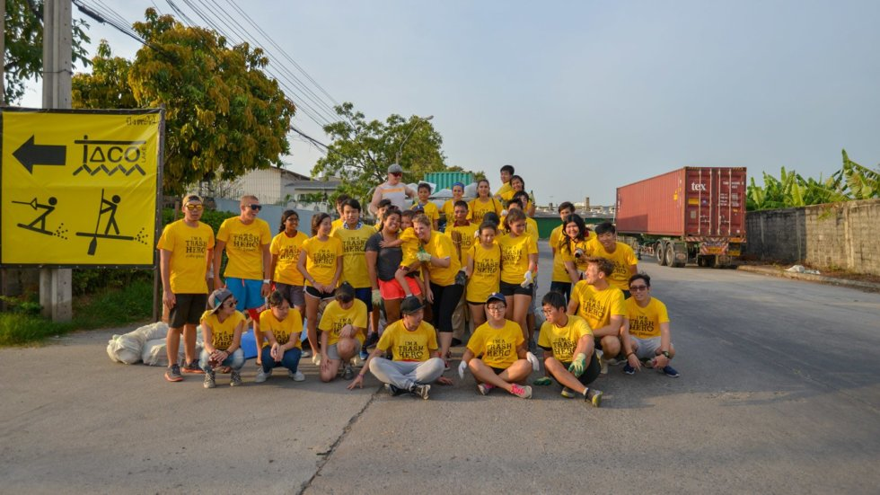 Trash Hero X Starboard School of Sustainability